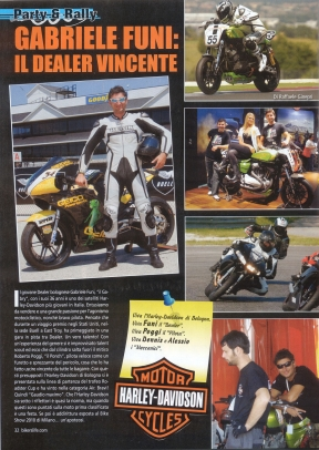 GABRIELE FUNI IL DEALER VINCENTE - Bikers Life 2011-01