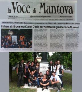 La Voce di Mantova (17 Luglio 2011)