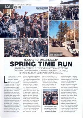 LOWRIDE_AGOSTO 2018 - SPRING TIME RUN