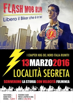 9314 Flash Mob Run 2016 Eventi Hog Bologna Chapter