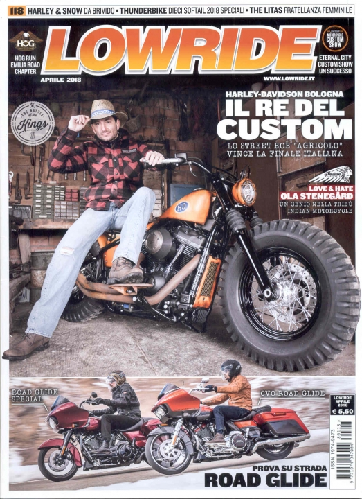 LOWRIDE_APRILE 2018 - THE BATTLE of the KINGS
